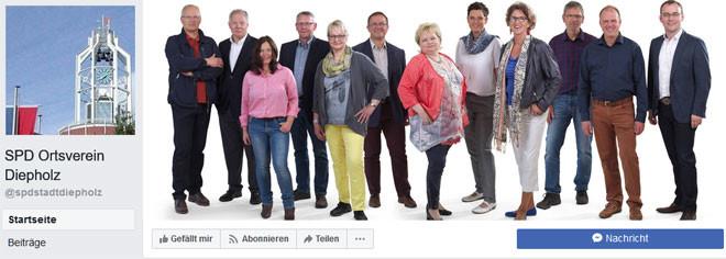 SPD Diepholz auf Facebook
