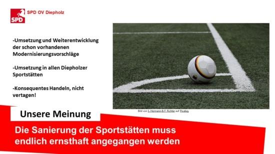 Sportstättensanierung